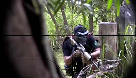 Novritsch - Airsoft Sniper Gameplay In The Phillipines