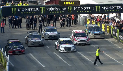World Rallycross Kevin Eriksson Awesome Skills