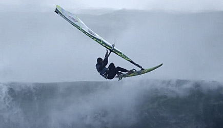 Windsurfing In Extreme Hurricane Conditions, Red Bull Storm Chasers