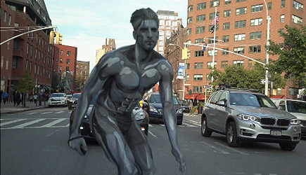 Epic Silver Surfer Halloween Costume