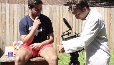 Teh Slow Mo Guys - Leg Waxing At 28.000fps