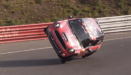 Around The Nordschleife On Two Wheels, Mini Cooper, Nürburgring Record