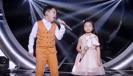 Amazing Singing Duo