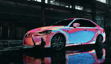 The Lexus LIT IS Reveal