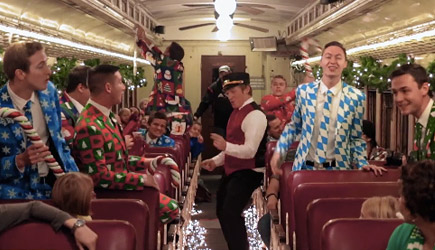 Stuart Edge - Polar Express Flash Mob