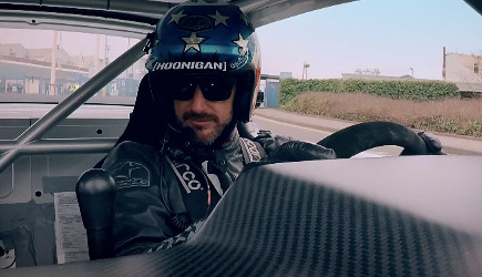 Ken Block Drifts London - Top Gear