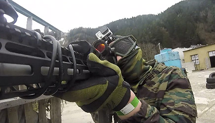 Novritsch: Handicapped In Wheelchair Airsoft Player
