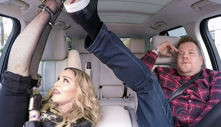 James Corden Carpool Karaoke With Madonna