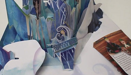 Impressive Frozen Pop-Up Book