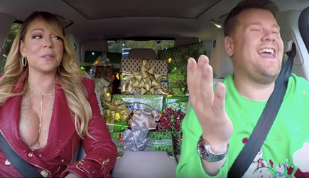 James Corden 'All I Want For Christmas' Carpool Karaoke