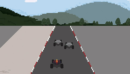 The F1 Story Of 2016: 8-Bit Video Game Style