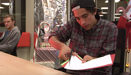 Zach King's Christmas Magic