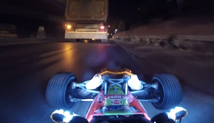 RC Car Ride At Night In Istanbul In Real Traffic