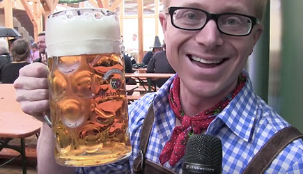 Joe Hanson Goes To Oktoberfest In Munich