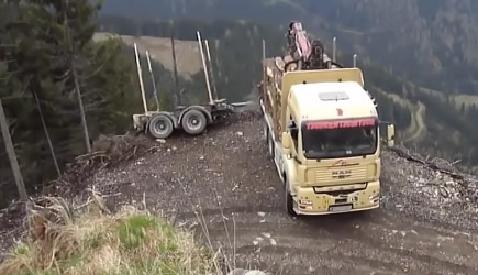 Truck Driving Skills Compilation
