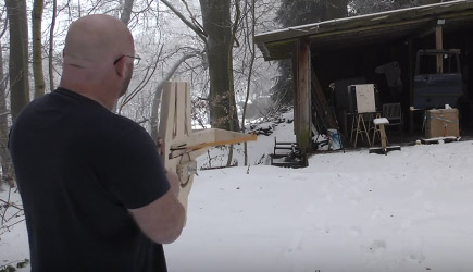 Home Made Full Auto Crossbow