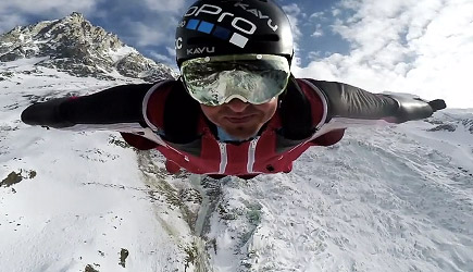 GoPro: Best Wingsuit Flight of Marshall Miller's Life