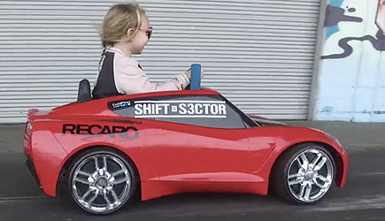 5 Year-Old Lila Kalis Shreds The Donut Garage, Hoonigan