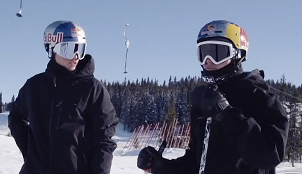 Skier Øystein Bråten and Snowboarder Marcus Kleveland Swap Sports for a Day