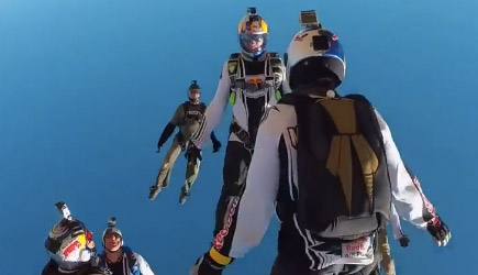 Freefall Frenzy With The Red Bull Air Force