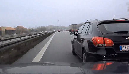 Best Of Dashcams - Bad Driving In Europe (72)