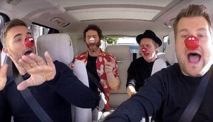 James Corden Carpool Karaoke With Take That
