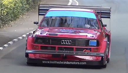Audi Quattro: Best Moments - Rally Group B / Hillclimb / Pikes Peak