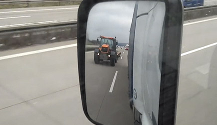 90km/h Tractor On The Highway