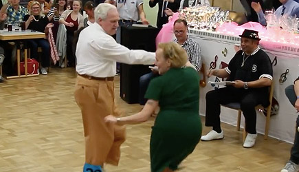You're Never To Old To Dance