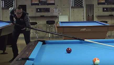 Florian 'Venom' Kohler - World Record - Longest Pool Cue Ever