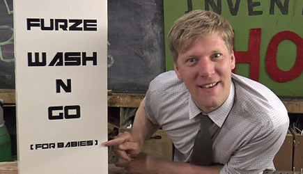 Furze's Invention Show - Dirty Baby Washing Machine