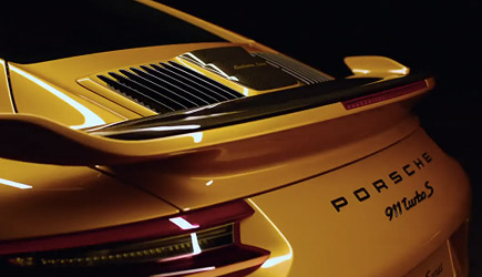 Porsche 911 Turbo S Exclusive Series Promo