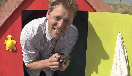 Colin Furze - This Beach Hut Has A Hidden Secret