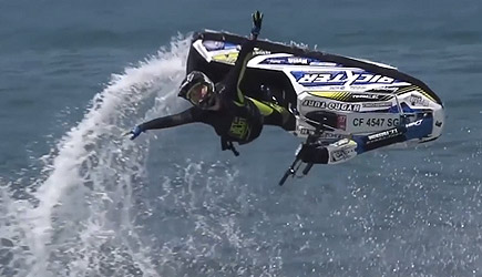 Insane Freestyle Jet Ski Tricks