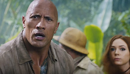 Jumanji - Welcome To The Jungle Trailer