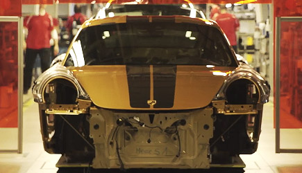 Porsche 911 Turbo S Exclusive Series - Factory Assembly