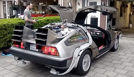 Remote Controlled DeLorean DMC-12, Back To The Future