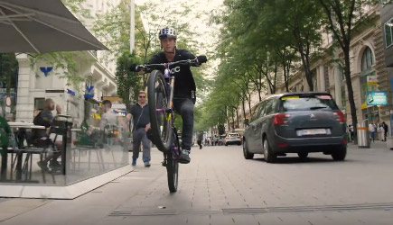 Urban Freeride Lives In Vienna - Fabio Wibmer