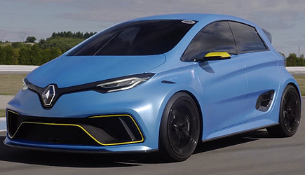 Driving A 460hp Renault Zoe