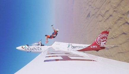 GoPro: Skydiver Nicole Smith Ejects From A Fox Acrobatic Glider in Dubai