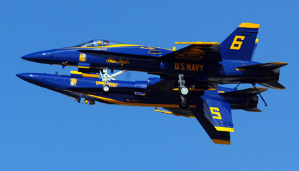 Blue Angels Sneak Peak