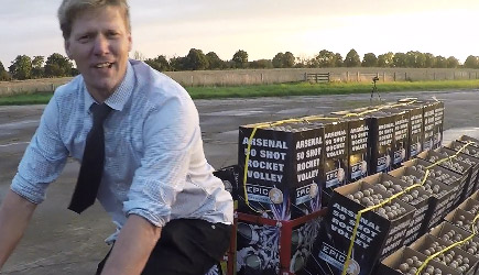 Colin Furze - 1000 Rocket Launch Bike