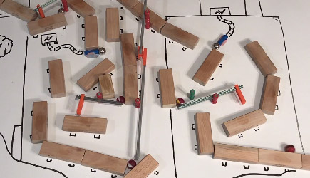 Marble Run Magnet Tricks
