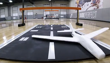 Dude Perfect - Airplane Trick Shots