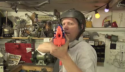 Colin Furze Book Project #1 - How to Make an Auto Nerf Trigger System