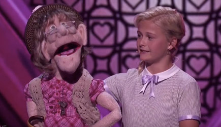 America's Got Talent - Darci Lynne, Edna