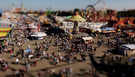 Oktoberfest Tilt-Shift Time-Lapse