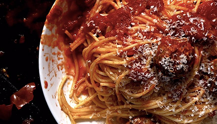 What If Tarantino Made Spaghetti & Meatballs