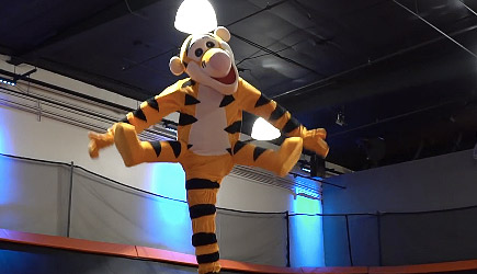 One Leg Tigger Halloween Costume