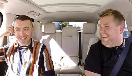 James Corden Carpool Karaoke With Sam Smith